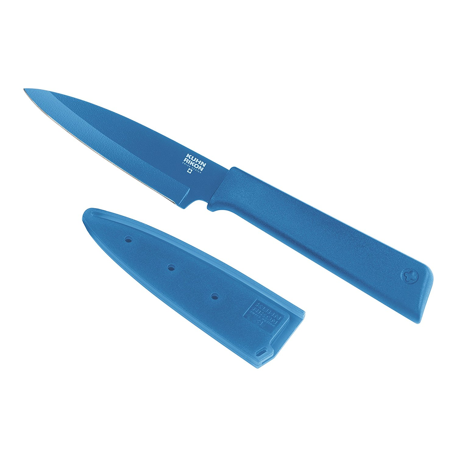 """Colori+"" Bulk Paring Knife, Blue, Paring Knife Colori Blue Bulk By Kuhn Rikon"