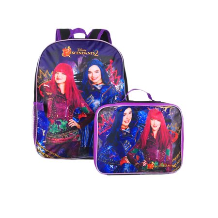 Disney Descendants Backpack with Insulated Lunchbox](Backpack With Lunchbox)
