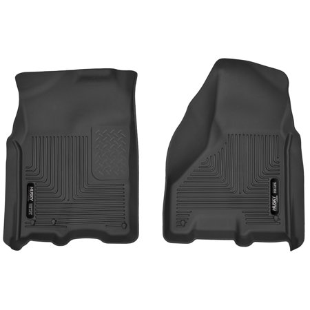 Husky Liners Front Floor Liners Fits 09-18 Ram 1500(10-18 2500/3500) Crew Cab (Acura Rsx Husky Liners)