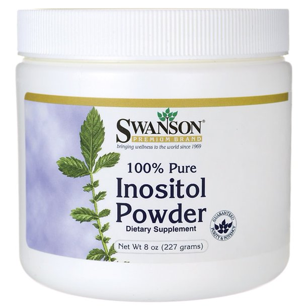 Swanson 100% Pure Inositol Powder 8 oz Powder