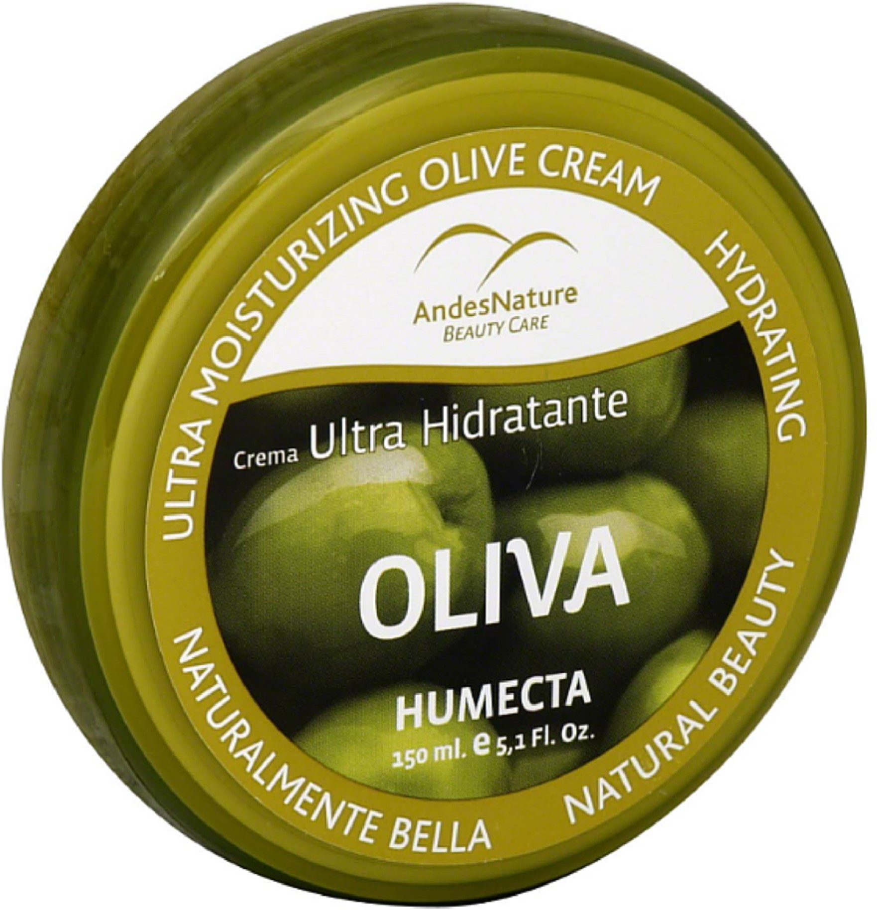Andes Nature Ultra-moisturizing Olive Cream, 5.12 oz