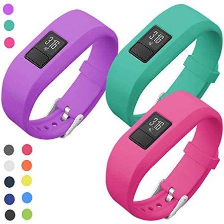 SKYLET Compatible with Garmin Vivofit JR Band Vivofit 3 Vivofit JR 2 Bands, Colorful Silicone Replacement Wristbands - image 4 de 5