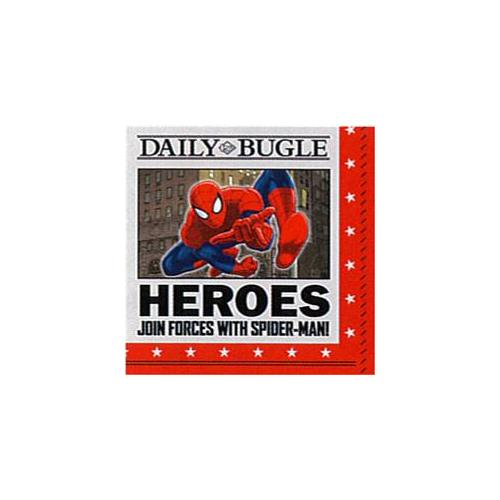 Mayflower Distributing 62390 SPIDER HERO PARTY - BEV NAPKIN