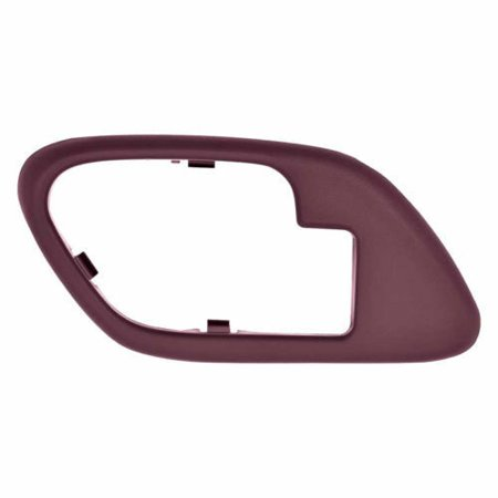Parts N Go 1995-2002 Chevy Pickup Door Handle Bezel Interior Burgundy Trim Passenger Side Right Hand RH Front/Rear - 15708086, GM1358100