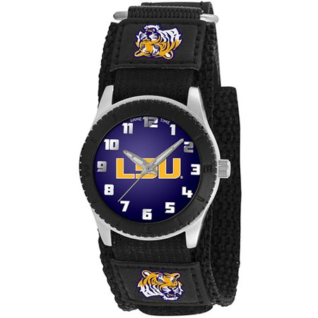 Game Time NCAA Men's Louisiana State Tigers Rookie Series Watch, Black