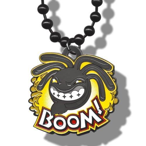 "WWE Kofi Kingston ""Boom!"" Yellow Pendant"