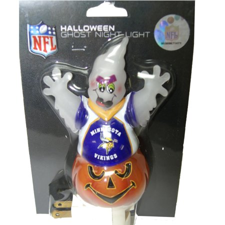 Minnesota Vikings Halloween Ghost Night Light
