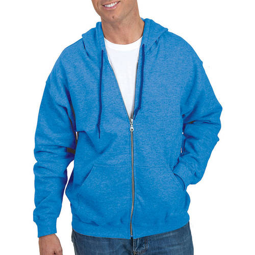 Gildan Big Men's Full Zip Hooded Sweatshirt