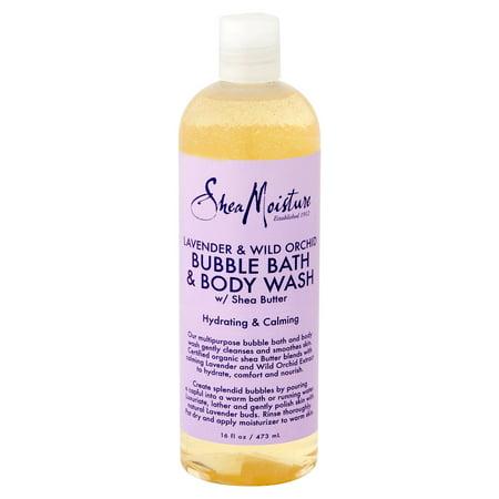 - Shea Moisture Oragnic Bubble Bath Lavender & Wild Orchard, 16.0 FL oz