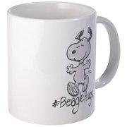 CafePress Snoopy Beagle Hugs Mugs Unique Coffee Mug, Coffee Cup CafePress by