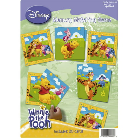 (Winnie the Pooh Memory Game By Factory Card and Party Outlet Ship from US)