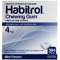 2 Pack - Habitrol Nicotine Gum 4mg Mint (384 Each) Stop Smoking Aid