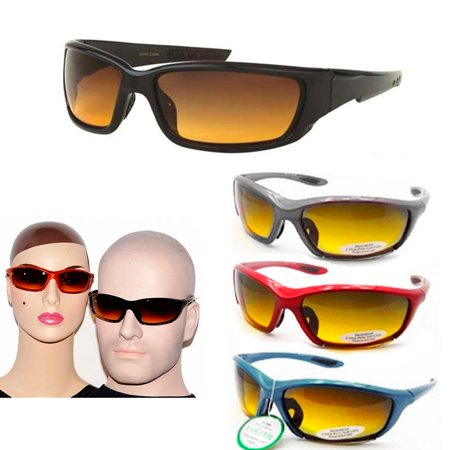 Men Women Sports Sunglasses Cycling Bike UV400 Driving Lens Outdoor Golf Eyewear (Multi Lens Biking Glases)