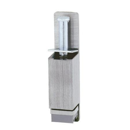 "Ives FS1153 Cast Aluminum Plunger Type Door Holder 6 1/4"" Height 1 5/8"" Throw"