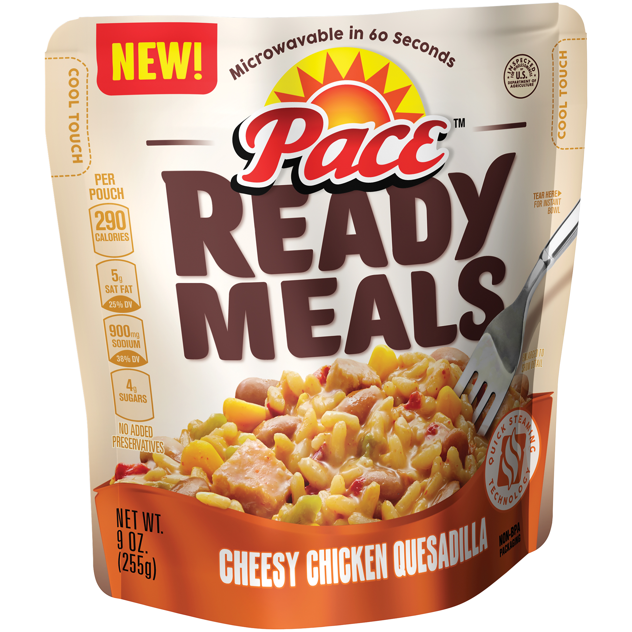 Pace Ready Meals Cheesy Chicken Quesadilla 9oz