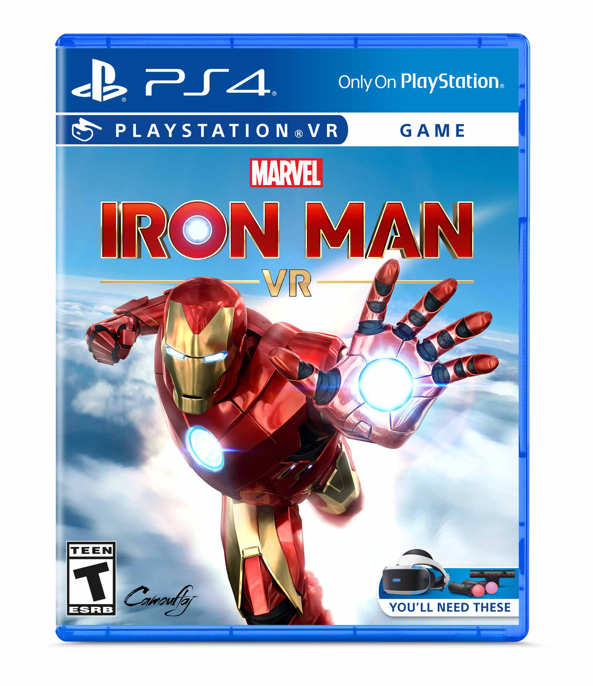 Marvel S Iron Man Vr Sony Playstation 4 711719520979 Walmart