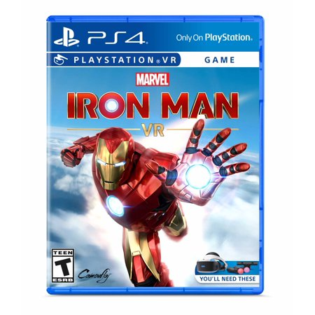 Marvel's Iron Man VR, Sony, PlayStation 4, 711719520979
