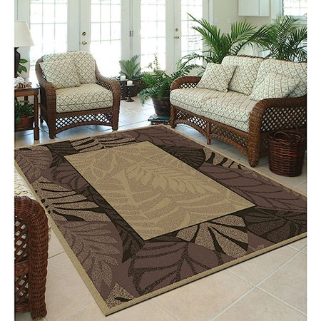 Orian Cancun Border Indoor/Outdoor Area Rug - Walmart.com