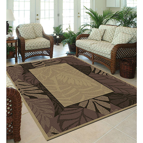 Orian Cancun Border Indoor/Outdoor Area Rug