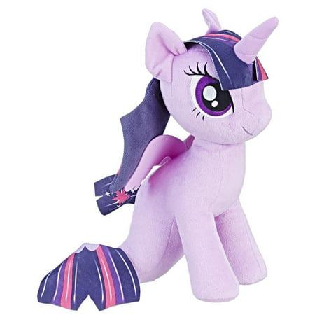Plush Stick Pony - My Little Pony the Movie Princess Twilight Sparkle Sea-Pony Cuddly Plush