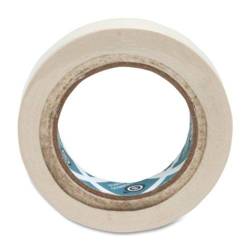 "Business Source 16460 Masking Tape - 1"" Width X 60 Yd Length - 3"" Core - 1 / Roll - Tan (BSN16461)"