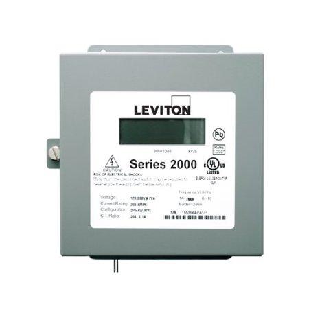 leviton 2n480-41 series 2000 three phase - 3 Phase Meter