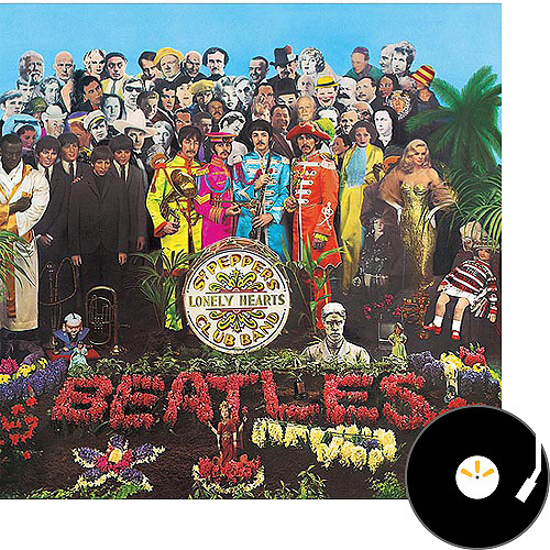 Sgt. Pepper's Lonely Hearts Club Band (Vinyl)