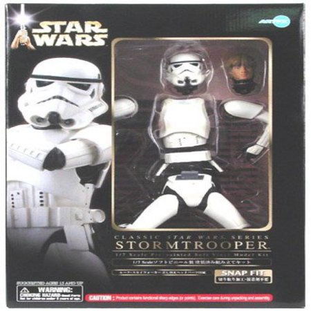 Star Wars Snap Fit Luke in Stormtrooper Armor Vinyl Statue - Stormtrooper Armor Kit