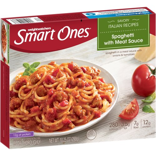 Weight Watchers Smart Ones Spaghetti with Meat Sauce, 10.25 oz