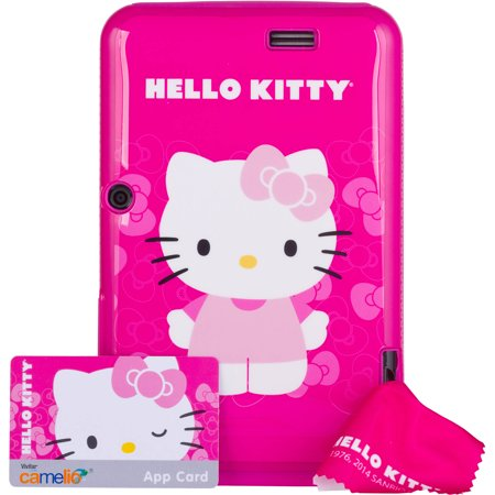 Special Offer Vivitar;Camelio with WiFi 7″ Touchscreen Tablet PC Featuring Android 4.1 (Jelly Bean) Operating System, Hello Kitty Bundle Before Special Offer Ends