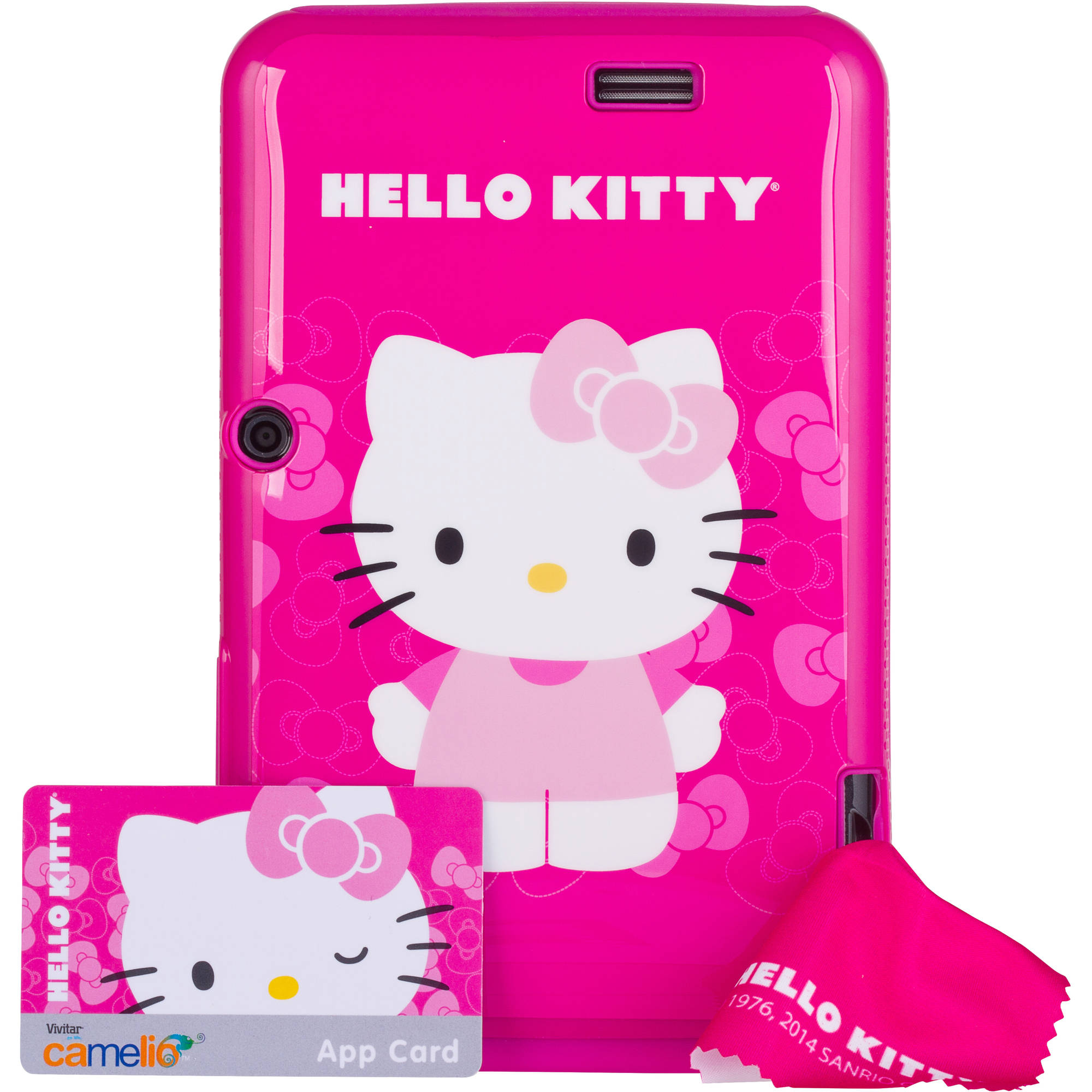 "Vivitar Camelio with WiFi 7"" Touchscreen Tablet PC Featuring Android 4.1 (Jelly Bean) Operating System, Hello Kitty Bundle"