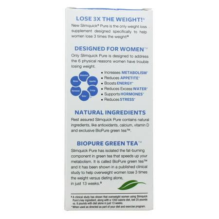 SlimQuick Fat Burner, Regular Strength, Caplets - 72 caplets