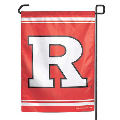 "Rutgers Scarlet Knights Garden Flag By Wincraft 11"" X 15"""