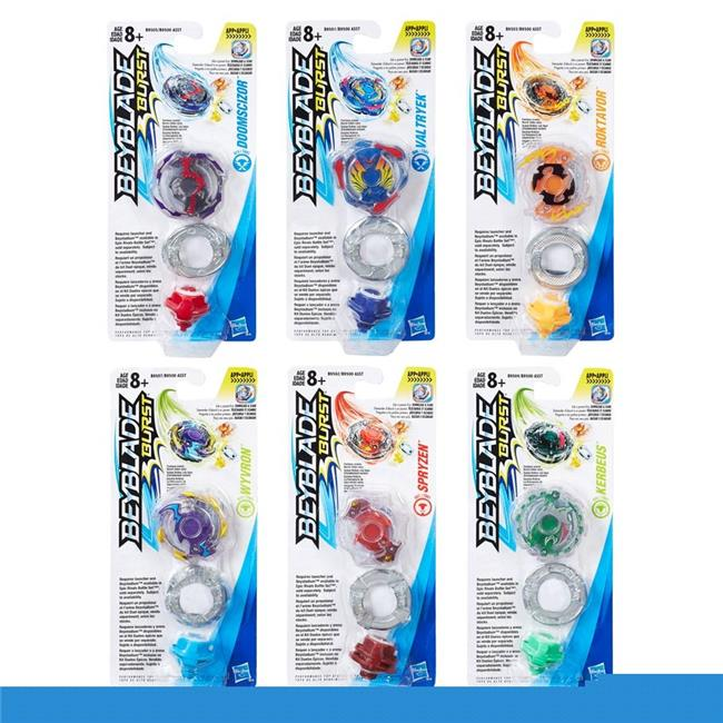Hasbro HSBB9500 Beyblade Single Tops, Assorted Colors Set of 12 by Hasbro