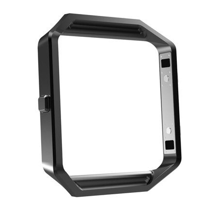 Mingnova Fitbit Blaze Accessory Frame, Stainless Steel Replacement Metal Frame For Fitbit