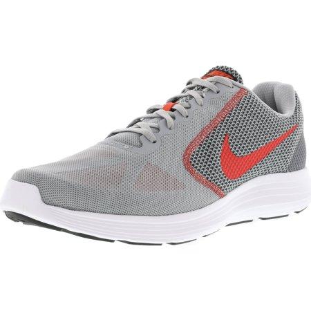 newest 6c1c7 2a1b5 korkea Nike vallankumous Punainen miesten harmaa musta raita 3 nilkka Wolf  PO1Pq