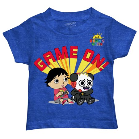 Ryan's World Game On T Shirt (Toddler Boys)