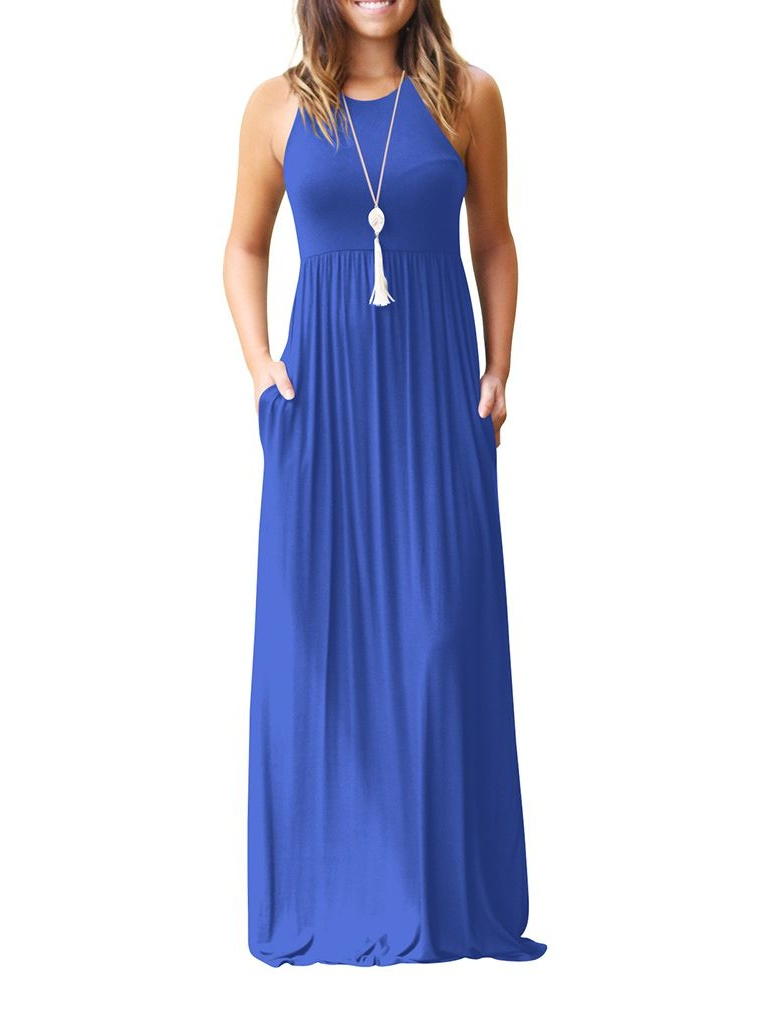 Floor Length Swing Dress