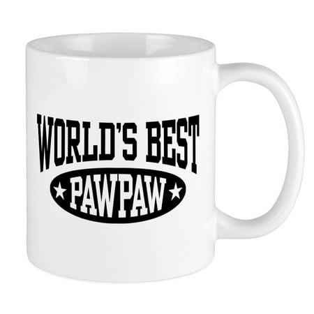 CafePress - World's Best Pawpaw Mug - Unique Coffee Mug, Coffee Cup