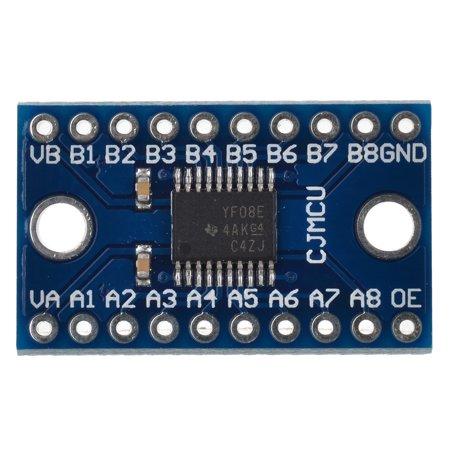 Full Duplex 8-CH Level Logic Level Bi-directional Converter 8-Bit Voltage Converter Module for Arduino (Logic Level Converter)