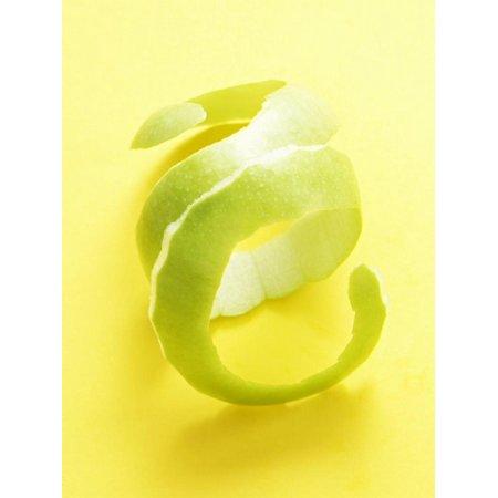 Green Apple Peel (Green Apple Peel Print Wall Art)