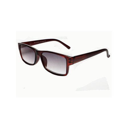 Tint Lens Reading Sunglasses Sun Reader Man Woman UV Protection BROWN (Uv Reader Glasses)