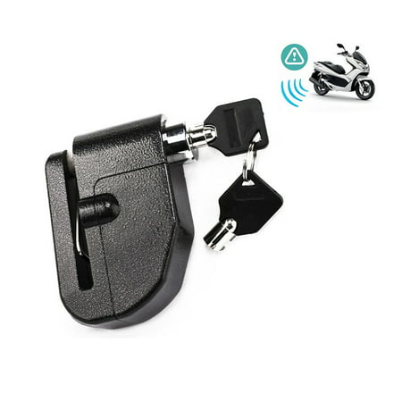 New Motorcycle Scooter Anti-Theft Security Wheel Disc Brake Lock With Loud Alarm (Disc Brake Disc)