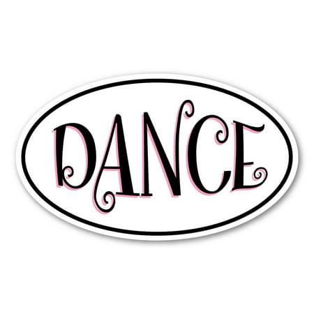 Dance Oval Magnet 5x8 Oval 18 Body