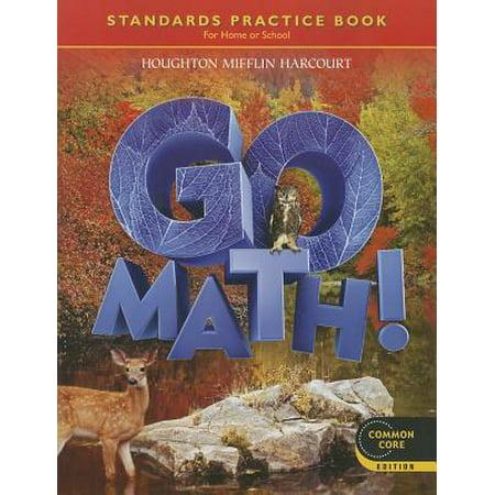 Go Math!, Grade 6: Student Practice Book (Paperback)