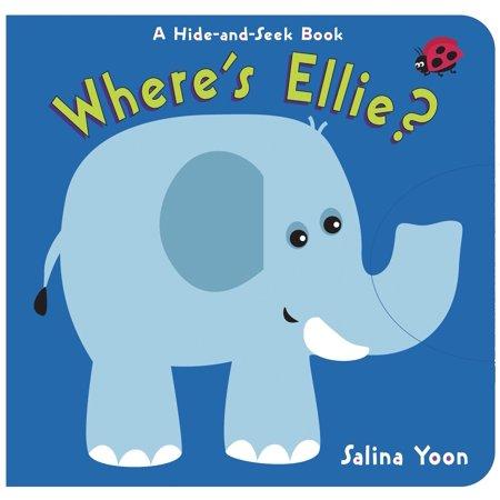 Where's Ellie? (Board Book) - Ellie 8260