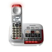 Panasonic KX-TGM450S 1 Handset Big Button Amplified Cordless Phone Silver