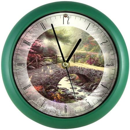 Thomas Kinkade Bridge Of Faith Clock Wall Or Desk Plays Amazing Grace Hourly](Game Of Thrones Cloak)