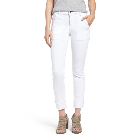 - rag & bone The Dre Carpenter Jeans In Aged Bright White 24