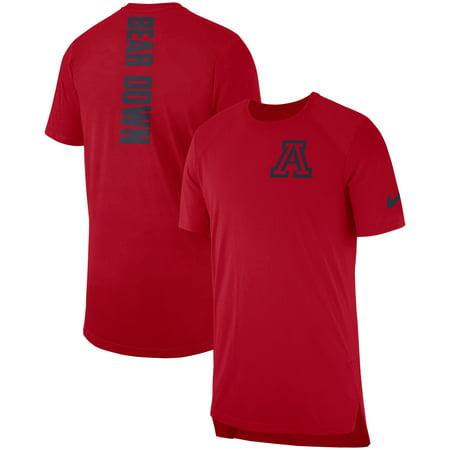 Arizona Wildcats Nike 2018 Elite Basketball On-Court Shooter Shirt - Red
